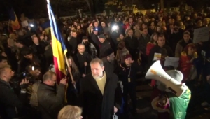 Protestul antiguvernamental din Capitală