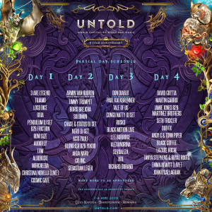 UNTOLD 2019 - CODEX OF MAGIC