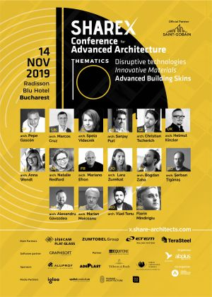 Conference for Advanced Architecture va avea loc pe data de 14 noiembrie