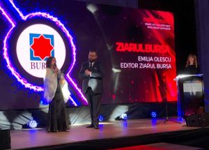"Ziarul ""BURSA"", premiat la Smart City Industry Awards"
