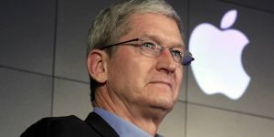 Directorul general al grupului informatic american Apple, Tim Cook