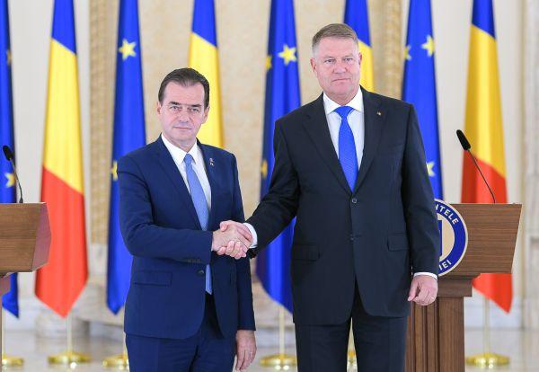 Întâlnire Klaus Iohannis - Ludovic Orban, la Palatul Cotroceni - 10.01.2020  | BURSA.RO